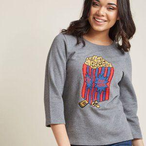 Modcloth Popcorn Pullover Sweatshirt top movie